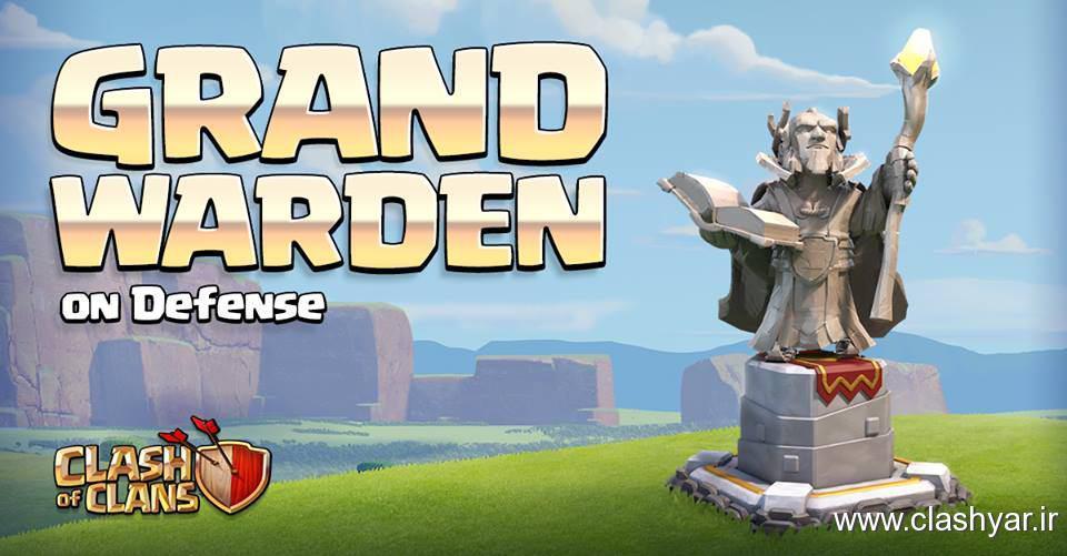 Grand Warden در دفاع از دهکده