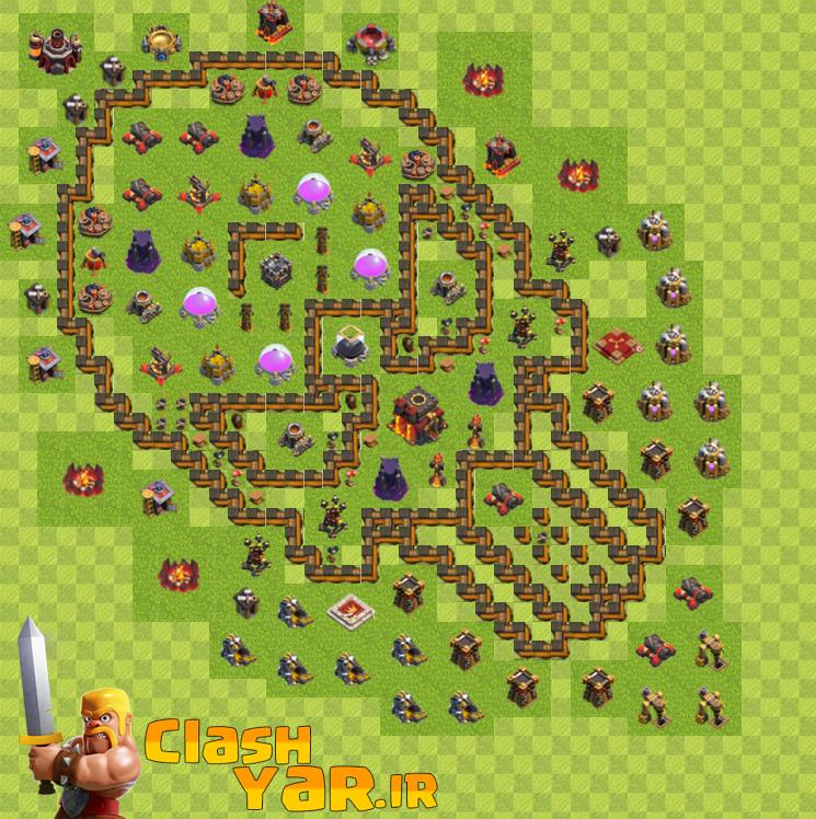 قدرتمند ترین نقشه های تاون هال 10
