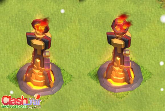 جزئیات ساخت و ارتقا Inferno Tower